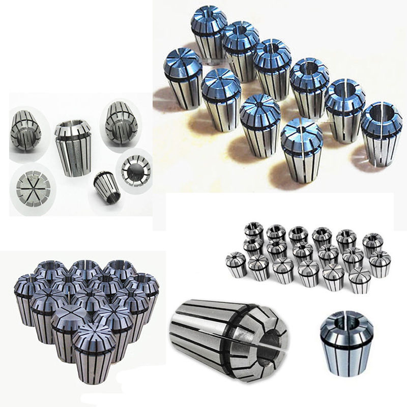 Domestic service 19Pcs/Set ER32 2-20mm Collet Chuck Milling Chucks CNC Tools For Engraving Machine Tapping Tools