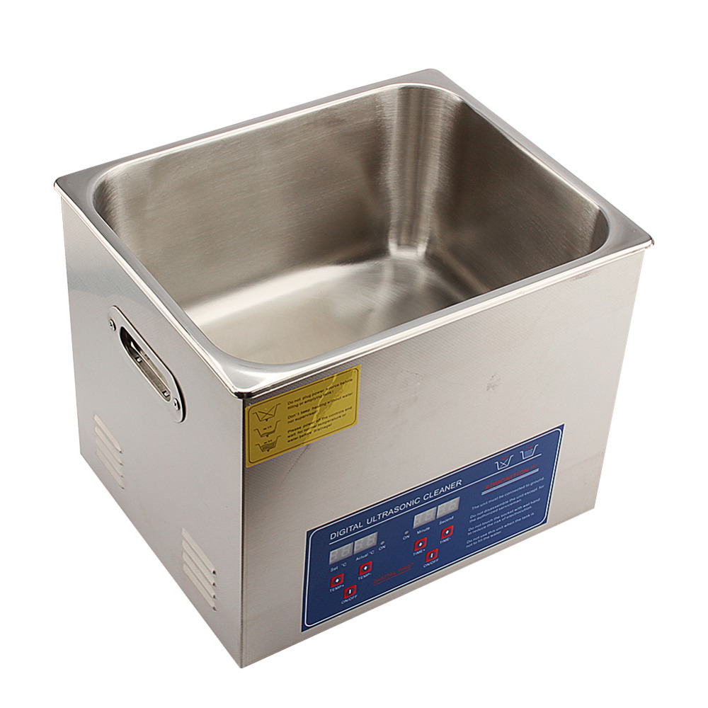 Digital Ultrasonic Cleaner Stainless Steel Ultra Bath Cleaner Heater Tank Limpiador Ultrasonico Jewelry Ultrasonic Cleaner