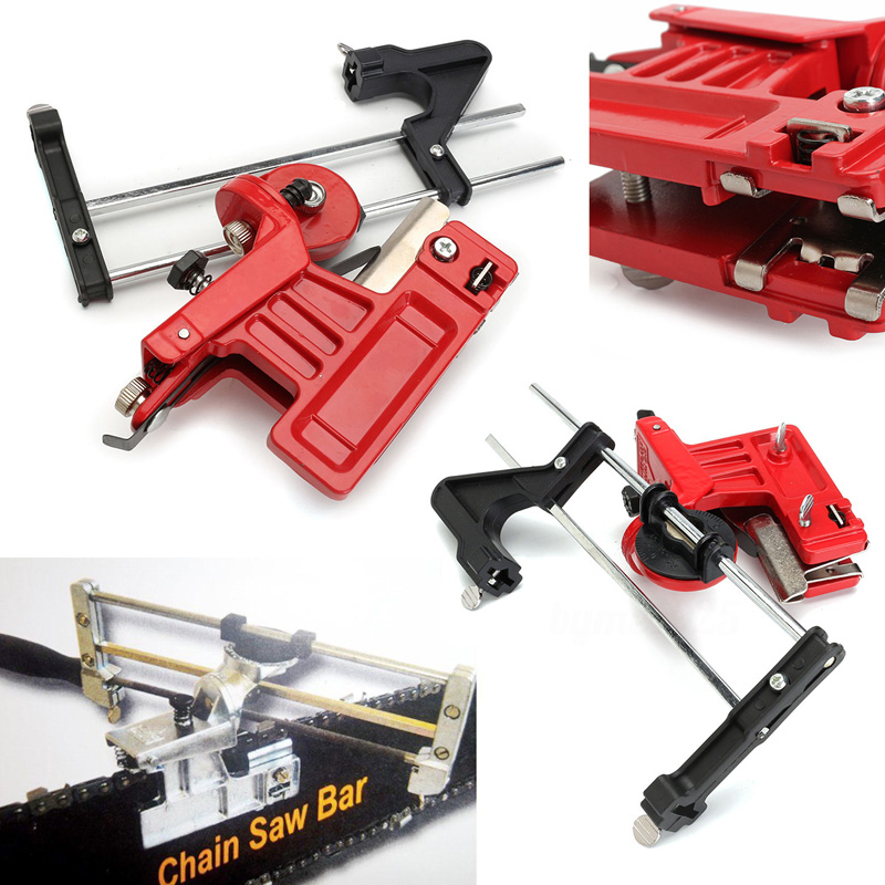 Universal Pro Lawn Mower Chainsaw Chain File & Guide Sharpener Grinding Guide for Garden Chain Saw Sharpener Garden Tools Mayitr