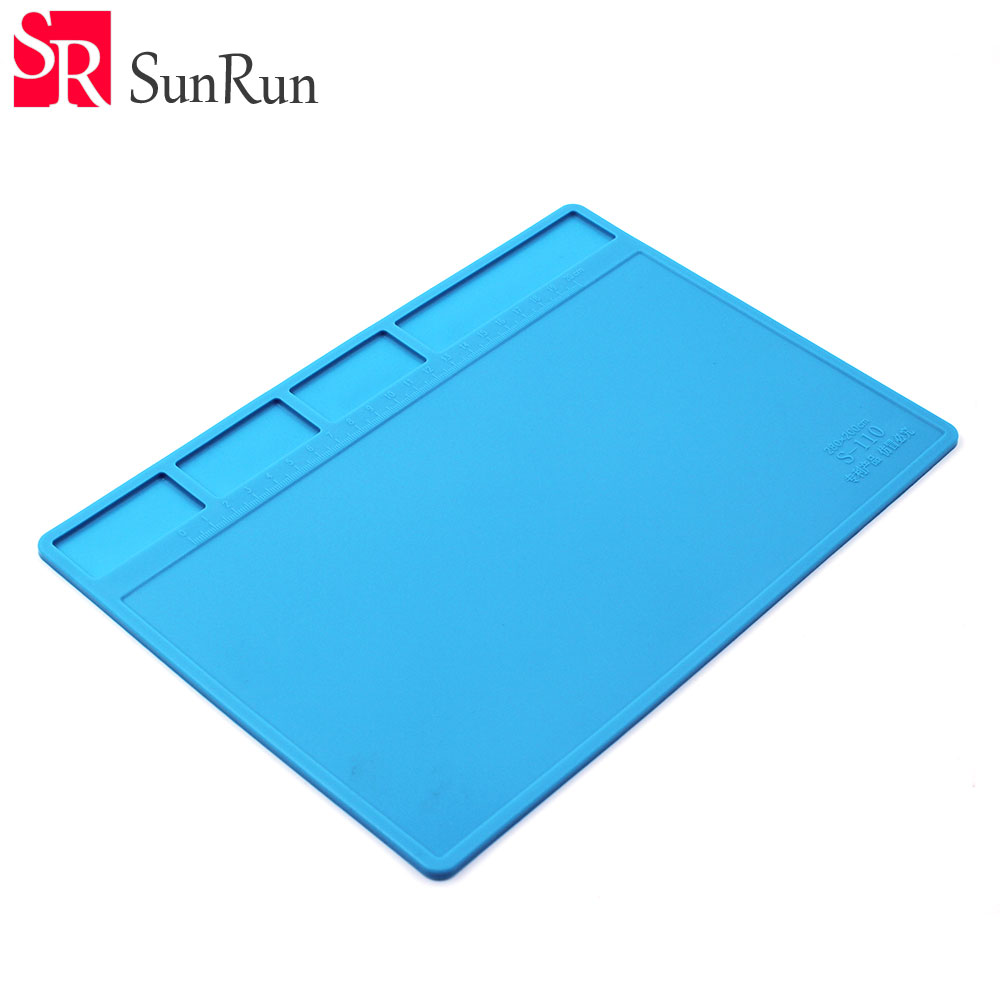 ESD Heat Insulation Working Mat Heat-resistant BGA Soldering Station Repair Insulation Pad Insulator Pad Maintenance Platform