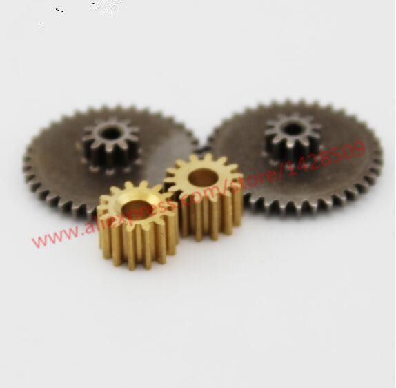 metal gears 0.5 modulus brass reduction gears for principal axis gear DIY Micro Motor diy Gear Box Mating Parts