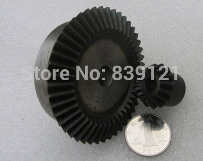 Precision bevel gear 1:3 ratio / 1.5 Model bevel gear transmission 15teeth 45 teeth  / 90 degrees at 1.5 model DIY Robot parts