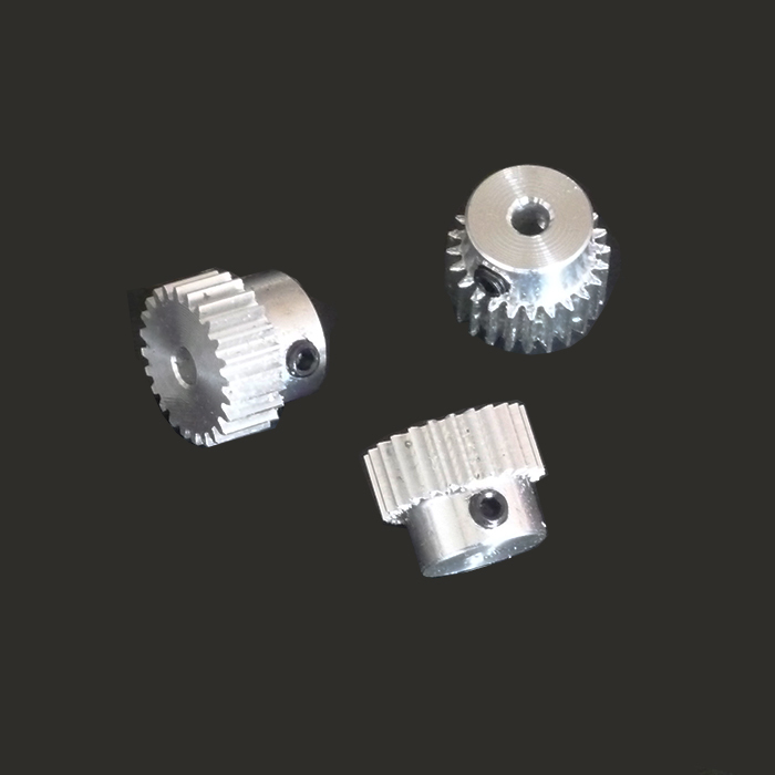 0.5m20 tooth boss 0.5 modulus plastic mold aluminum small gear feed Jimi top wire