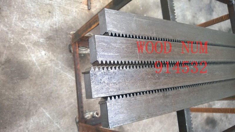 2.5mod 20*25*1000 mm Gear rack Precision cnc rack (straight teeth) Toothed rack