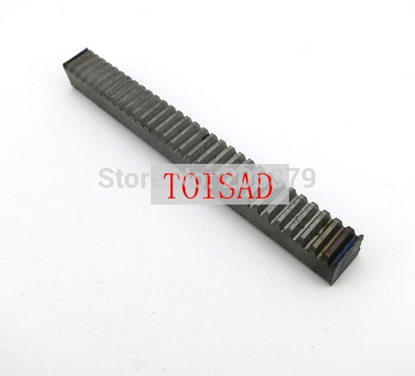 3Pcs 1M 1.0 Mod  10*10*1000 mm mold Gear rack Precision cnc rack (straight teeth) Toothed rack