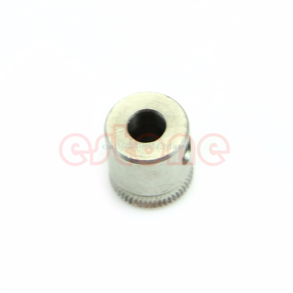 3D Printer MK7 Stainless-Steel Extruder Drive Gear Hobbed Gear For Reprap