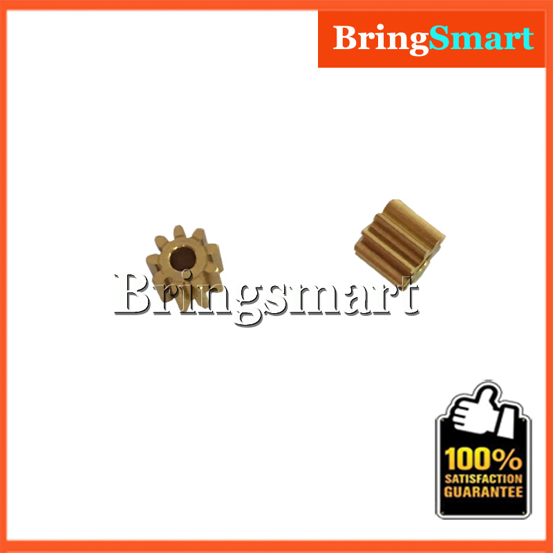 10pcs M0.5*9T Metal Gear Inner Diameter 2mm 9 Tooth Motor Gear FC-140RE Car Denso Motor Gear Motor Accessories Mini Motor Gear