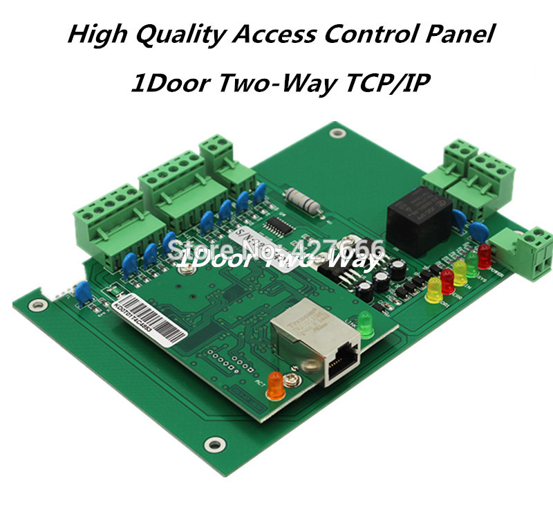 DHL FreeShipping RFID Card Access Contro Panel 1 Door access controller TCP/IP Wiegand access control board with Free software