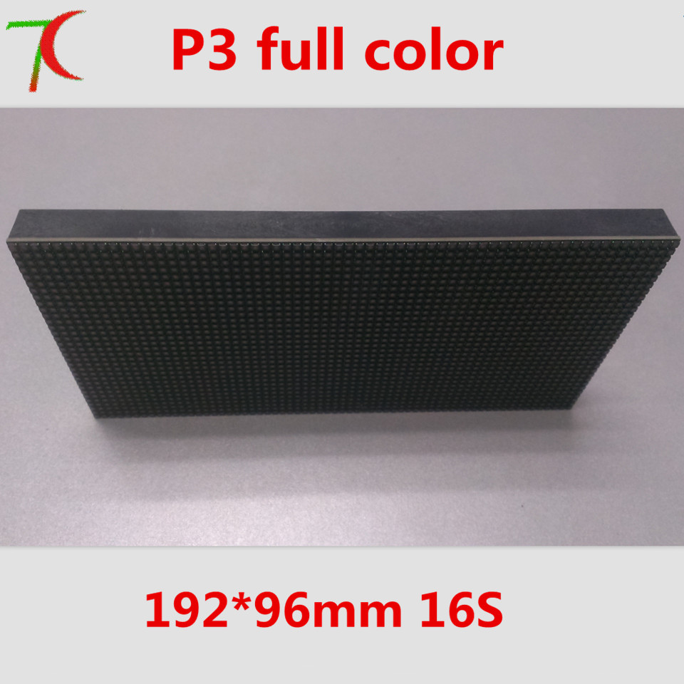 P3 good price indoor smd panel ,192*96mm,16scan,111111dots/sqm
