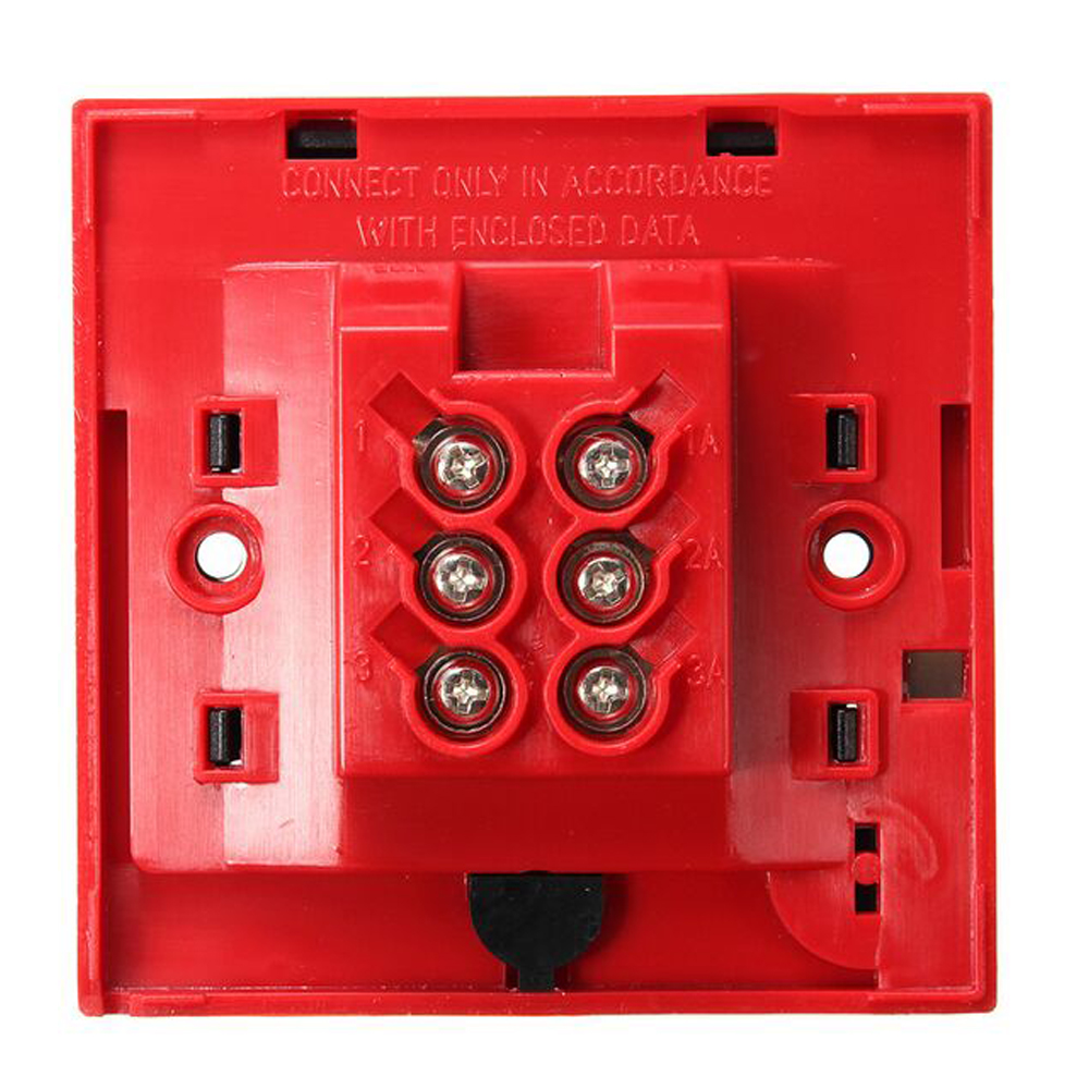 High 5pcs/lot (red) Quality Plastic Break Glass Emergency Exit Escape Life-saving Switch Button Fire Alarm Home Safely Security