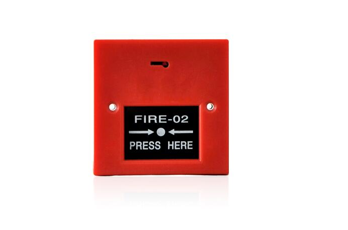 24VDC5A Fire Safety Alarm System Emergency Press Button Panic Push Switch for warehouse Factory hotel hospital Building Security