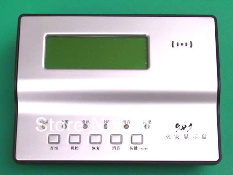 repeater panel microprocessor-controlled fire display panel LCD display