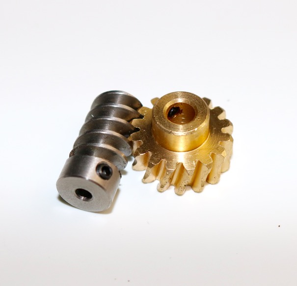 1M-16T/2T  worm gear rod  speed ratio:1: 8 Suitable  high torque reducer model steering gear lifting device