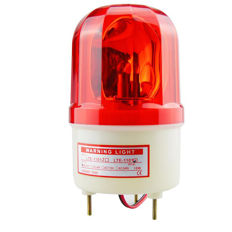 2 wire  12-24Sound Strobe 12-24strobe lamp Rotating warning lamp