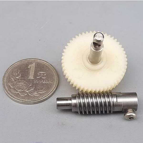 Worm Reduction Gear set Train Metal and Plastic Gearset for DIY Production