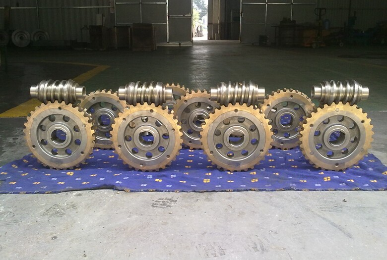 machining double enveloped worm gears (5)