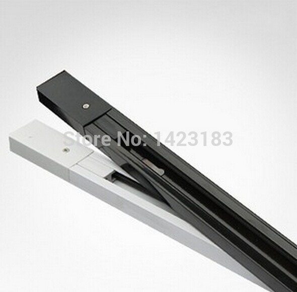 LED track light lamp track 0.3/ 1 meters white and black international universal track  light rail