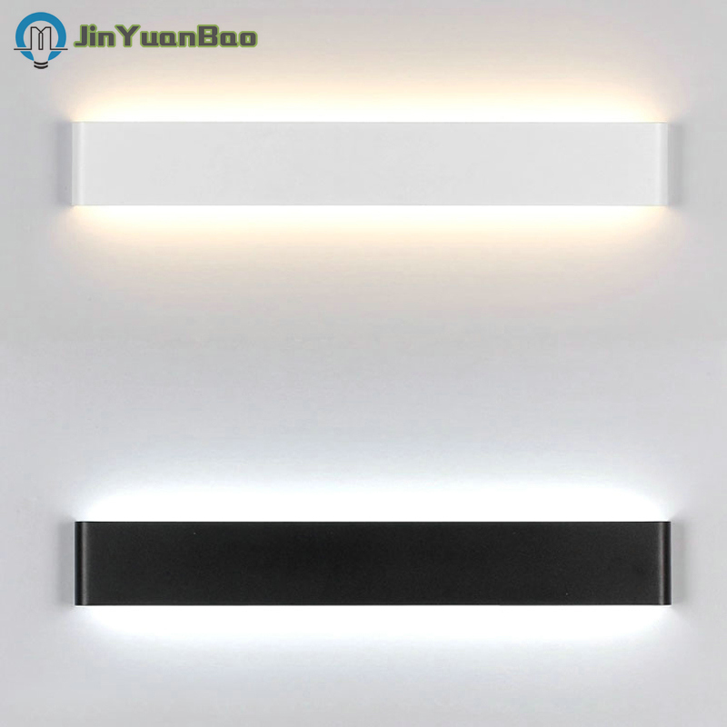 32cm-45cm long 10 W 18 W simple modern LED wall lamp aluminum alloy wall lamp bathroom mirror lamp living room bedroom lighting