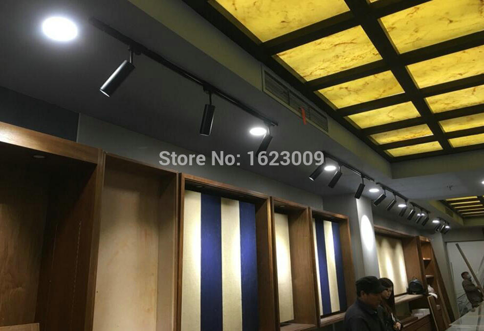 7W 10W LED Track Light white energy saving rail light decorate Lamp store light high quality high lumens Lamp 5 years warranty