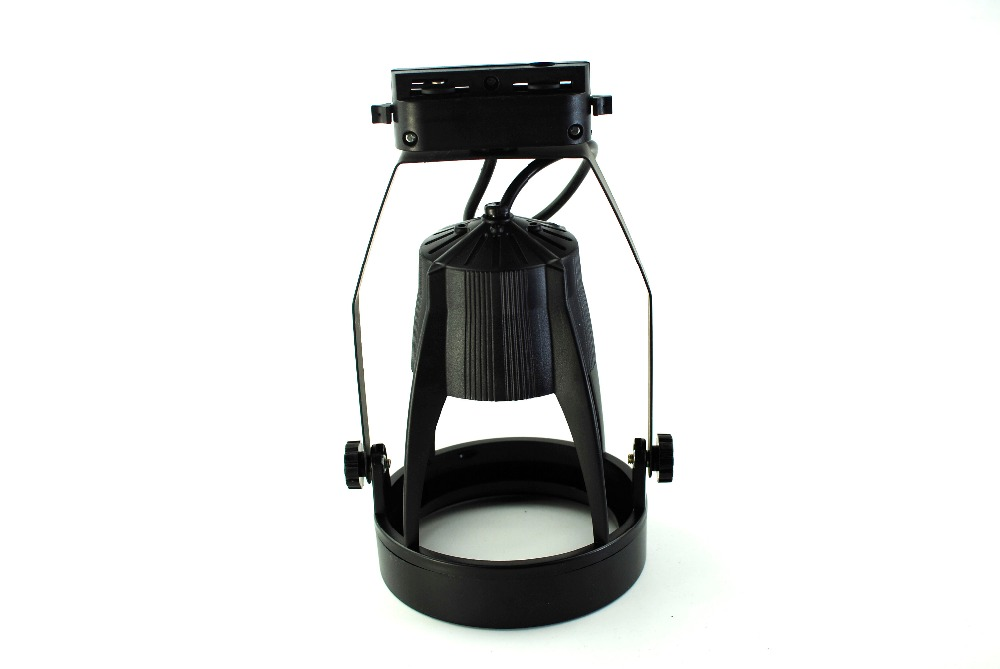 Black E27 Base Line Voltage Track Lighting Head led track Spotlight Fixture Led  For Par30 Led Light