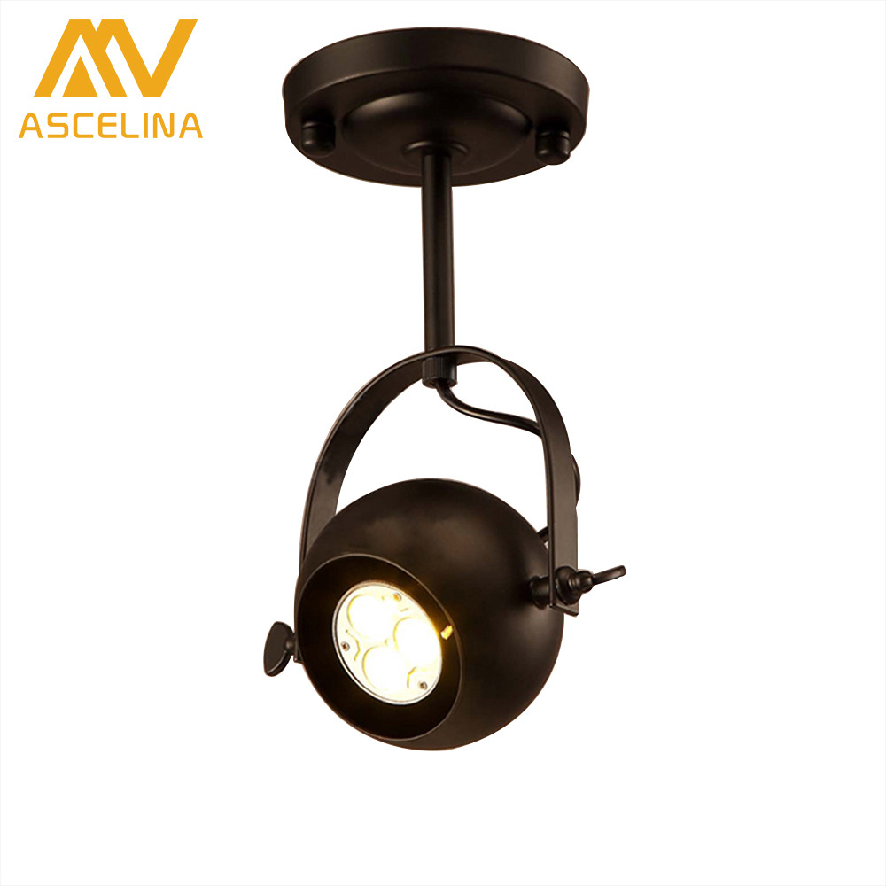 Led track light Loft rail Track lights led Light clothing art deco lamp spotlight tiendas de lamparas   wall lighting LED spot