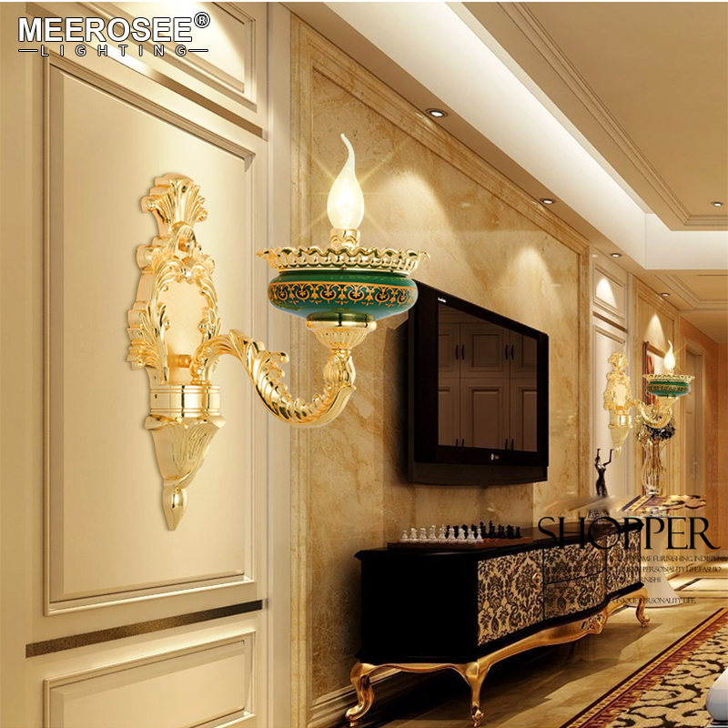 Vintage Wall Lamp Lustres Wall Lights Bedroom Living room Sconces Aisle Corridor High Quality Bracket Lighting