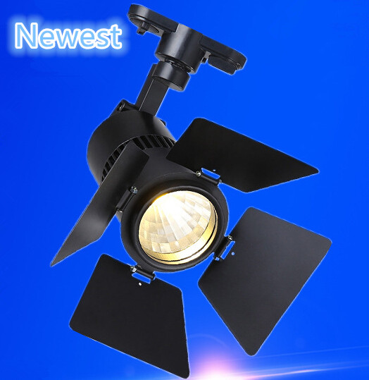 Free Shipping  New Arrival 30W COB Led Track Light,Spot Wall Lamp,Soptlight Tracking led AC85-265V CE