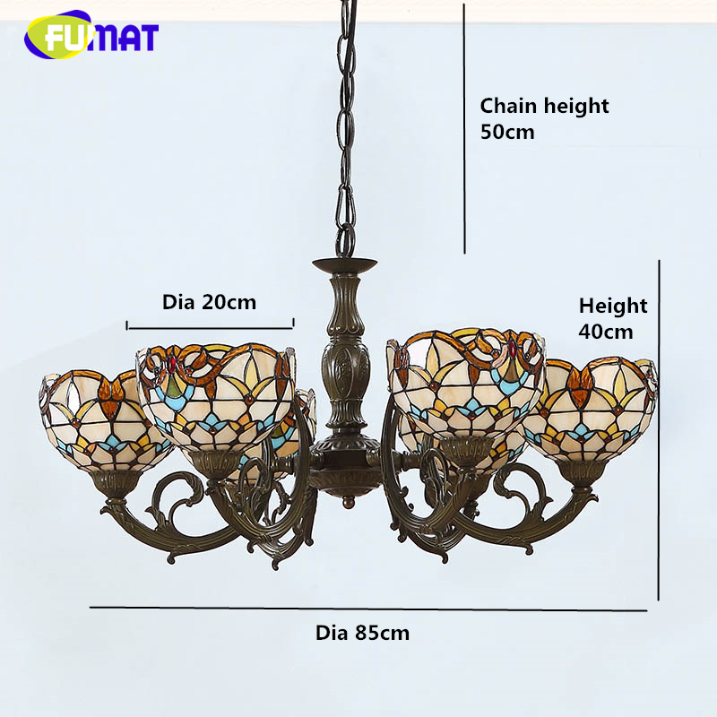FUMAT Baroque Creative Pendant Lights Living Room Dining Room Large Lightings Warm Pendant Lamp Bar Restaurant LED Pendant Light