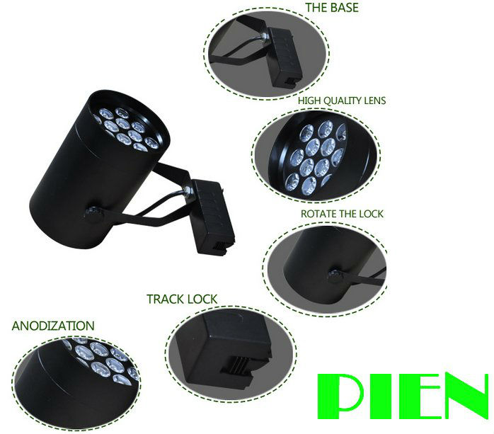 5W led track lights lamparas black Wall Spot ceiling lamp Kitchen dinning room High power white blue green by DHL 10pcs