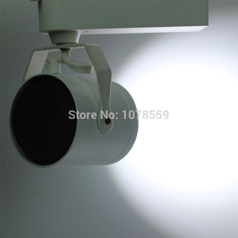 40W COB LED Ceiling Track Rail Light Spotlight Lamp Display Cabinet AC 85-265V  Warm/Cool White Shop Tracking Ceiling Fixture