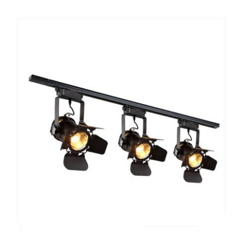 Loft Lamp Track Lighting Fixture Vintage led track lights clothing store bar restaurant ceiling lamps
