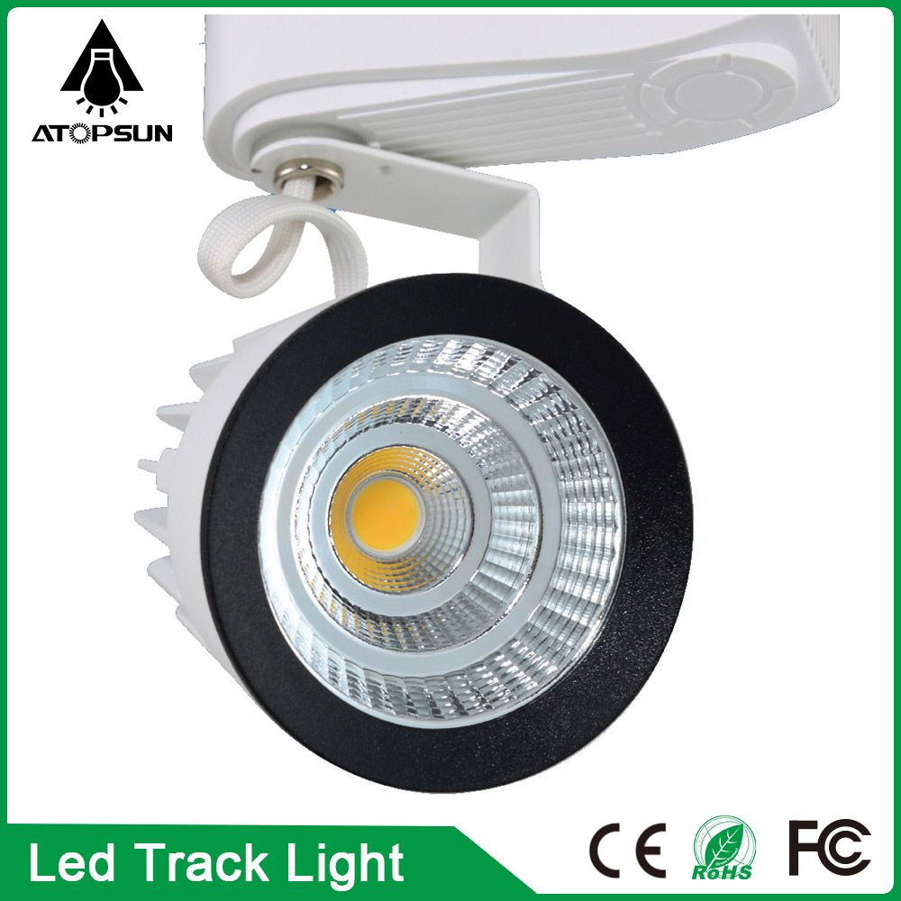 2016 LED track lights rail  Wholesale 15W COB Led Track Light,Spot Wall Lamp,Spotlight Tracking AC85-265V light Free shipping