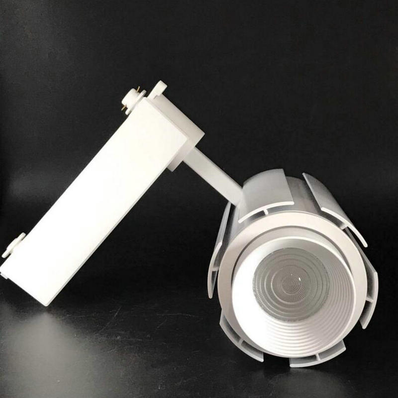 Wholesale Retail focusing 20W 30W CREE dimmable COB LED Track Light Spot Wall Lamp Spotlight Tracking LED AC110V/240V