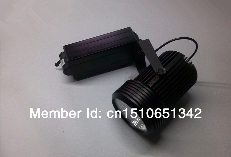 Free shipping COB 20W High Quality High Lument LED Track Spotlight 90~100LM/W LED Spot  light  CE&ROHS AC85~265V