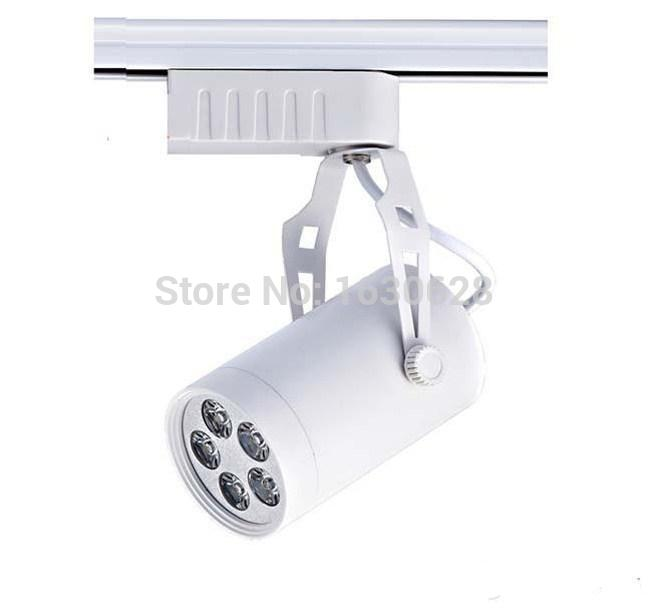FREE SHIPPING Cool white Led Track Light 24W 120 Beam angle Led Ceiling Spotlight AC 85-265V led spot lighting + CE ROHS CSA UL