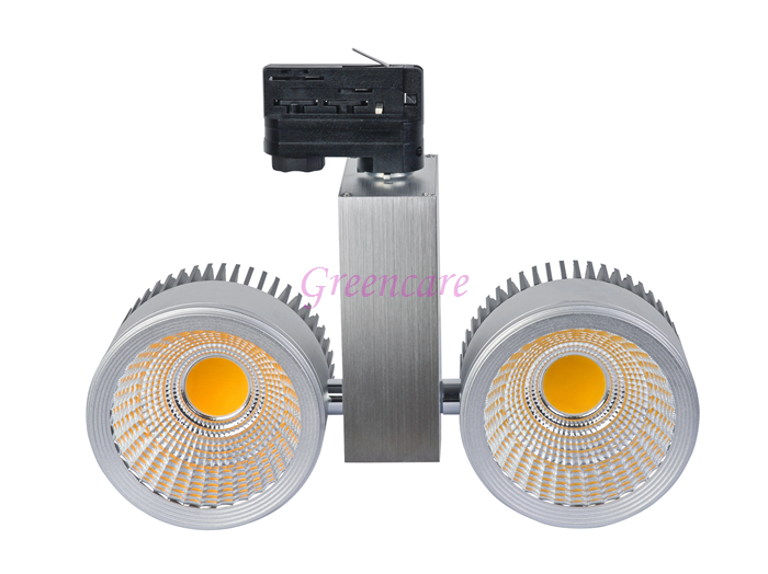 Super Bright LED Track Light 80W COB Rail Lights Spotlight 110v 120v 220v 230v 240v Warm Cold Natural White Non Dimmable