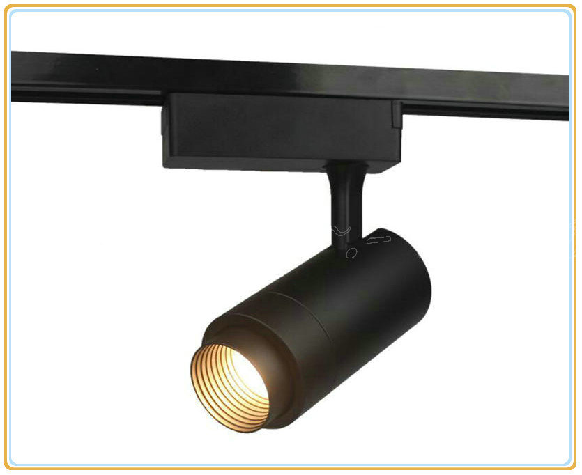 Wholesale Retail Zoom 10W 15W 20W 30W CREE COB LED Track Light Spot Wall Lamp Spotlight Tracking LED AC110V/240V
