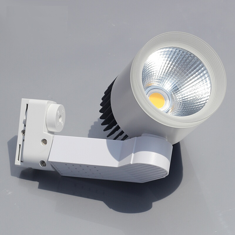 ANJOET 7W 15W 20W 30W COB LED Track Lighting Aluminum rail lamp leds spotlights iluminacao for Clothing Exclusive Shop lighting