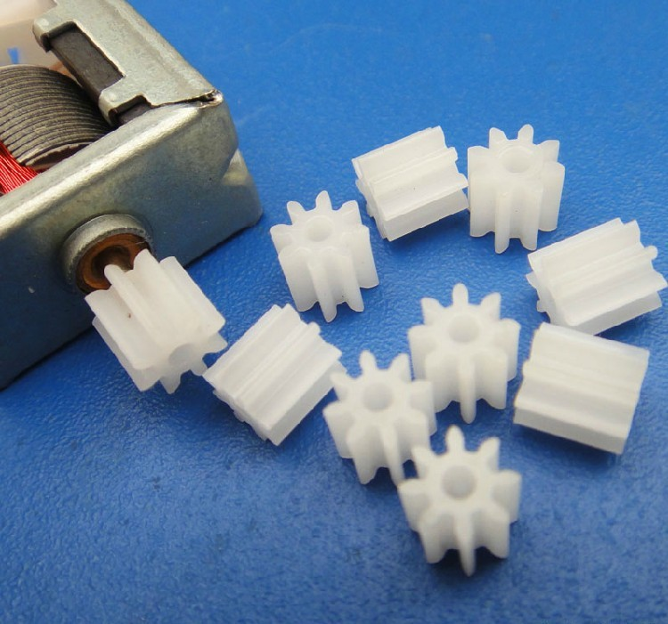 8-2A  plastic gear for toys small plastic gears toy plastic gears set plastic gears for hobby