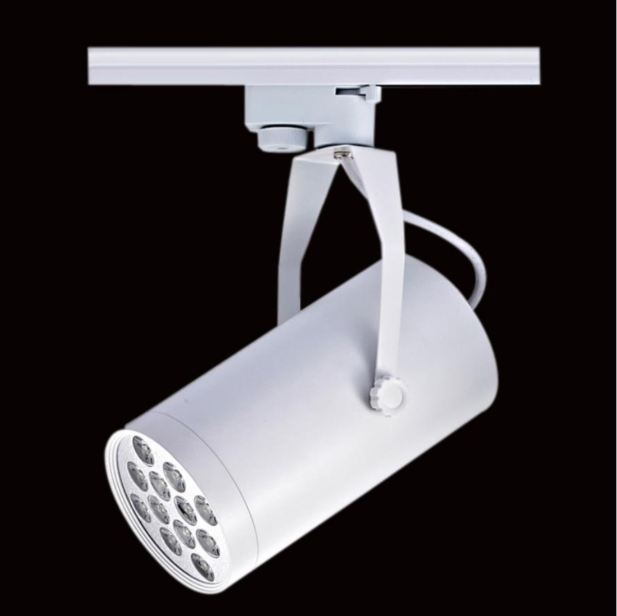 High Quality 15W White/Warm White LED Track Light Spotlight Wall Kitchen Hotel Exhibition Fixture