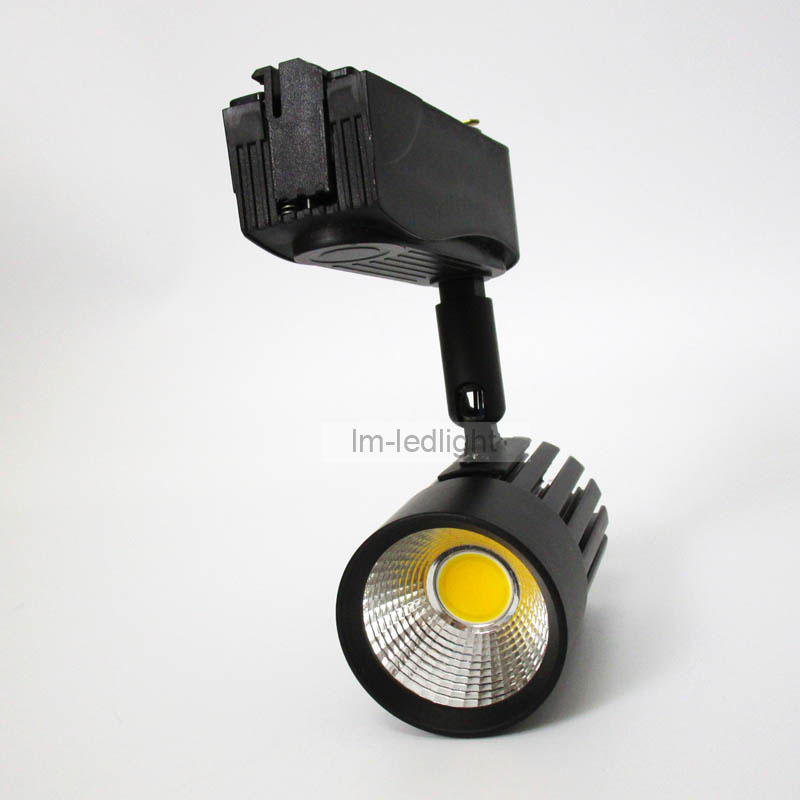 arte lamp track lights 10W in black white track head Bridgelux warm/ nature / cold white commercial lighting 20pcs free shipping