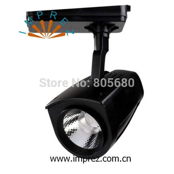 New Arrival 50W COB Led Track Light LED Rail Spotlight shop usage 24 beam angle warm white cold white free shipping