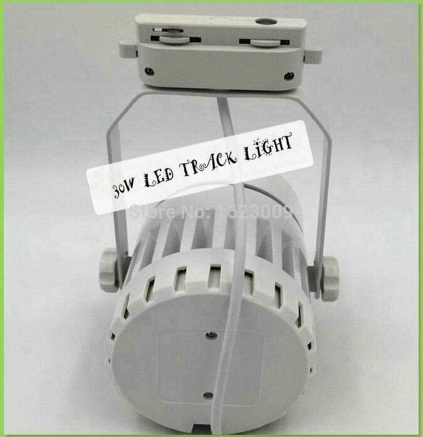Factory wholesale and retail 30W  LED Track Light Spot Wall Lamp Soptlight AC85V-265V  High quality best price