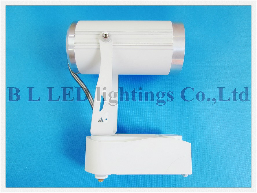 COB 10W LED rail spot lamp light LED track light tracking light Commercial lighting COB 10W 900lm AC85V-265V input aluminum