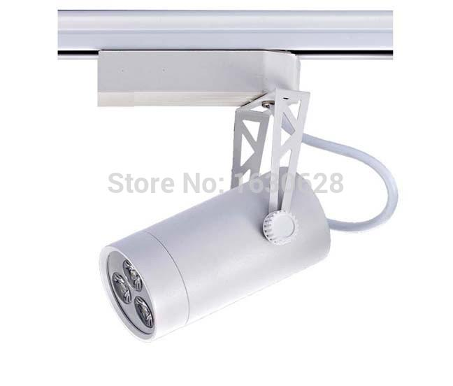 FREE SHIPPING Cool white Led Track Light 10W 120 Beam angle Led Ceiling Spotlight AC 85-265V led spot lighting + CE ROHS CSA UL