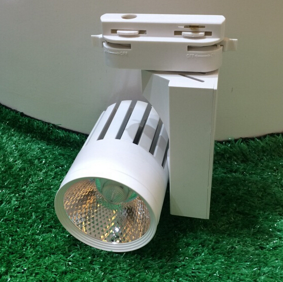 free shipping 30W modern track light spot light shopping mall close shop usage 85-265V 30W spot light