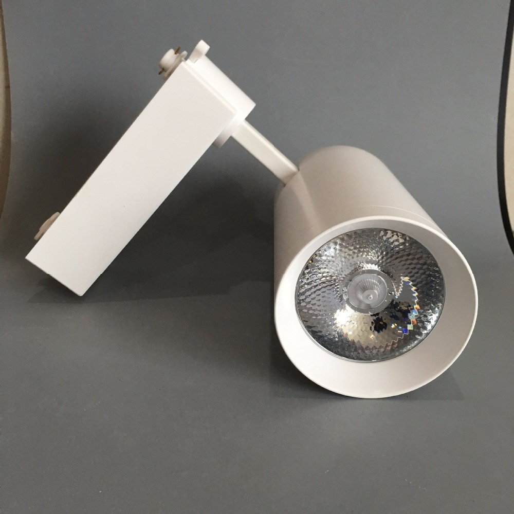 SNYKA 20W 30W  LED Track Light COB Angle Adjustable Track Rail 220V for Hotel Lobby Decoration Luminaire