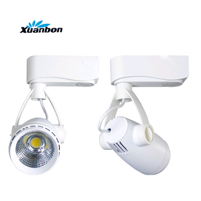 LED COB Track light 4PCS 3W 7W Rail Wall Light Ceiling Commercial Track Light For Clothes Shoes Shop Spotlights AC220V
