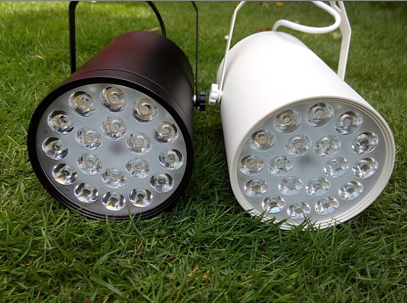 18W Track Light LED Fixture AC 85~265V for Shop Malls Art Gallery Spotlights Lighting Warm white Cold white CE ROSH Super Bright