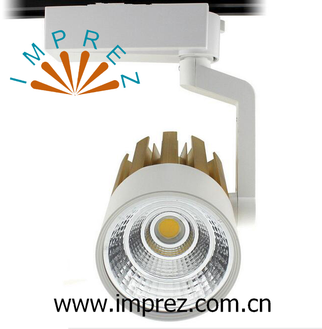 New Arrival 20W Led Track Light COB Rail Light Spotlight 110V 120V 220V 230V 240V WW NW CW Tracking Lamp Track Lighting